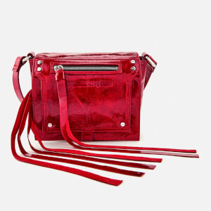 McQ Alexander McQueen Women's Loveless Mini Cross Body Bag - Riot Red