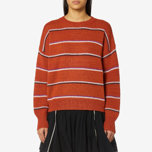 Isabel Marant Etoile Women's Gatlin Thin Stripes Jumper - Rust