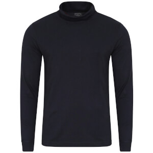 Kensington Eastside Men's Denbigh Roll Neck Long Sleeve Top - True Navy