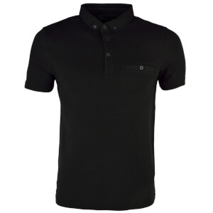 Dissident Men's Dalwood Polo Shirt - Black
