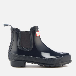 Hunter Women's Original Gloss Chelsea Boots - Navy