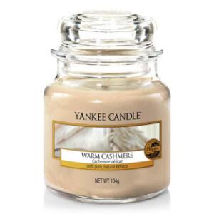 Yankee Candle Petite Jarre Senteur Cachemire Délicat