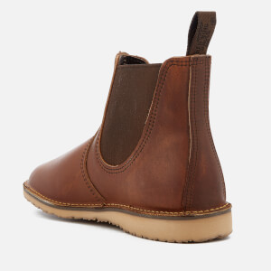 Red Wing Men's Weekender Leather Chelsea Boots - Copper Rough & Tough: Image 2