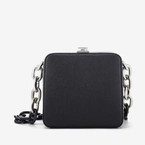 The Volon Women's Cube Chain Bag - Black