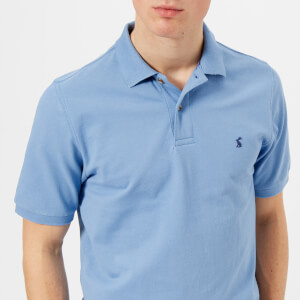 Joules Men's Woody Polo Shirt - Powder Blue