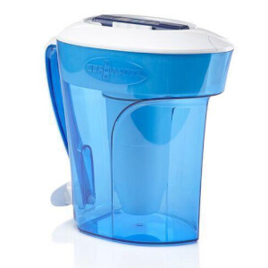 ZeroWater 12-Cup Ready Pour Pitcher - 2.8L - Blue