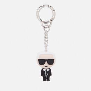 Karl Lagerfeld Women's K/Ikonik 3D Karl Keychain - Black