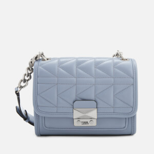 Karl Lagerfeld Women's K/Kuilted Mini Handbag - Mistic Blue