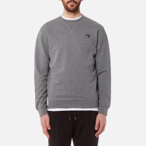 McQ Alexander McQueen Men's Coverlock Sweatshirt - Stone Grey Melange