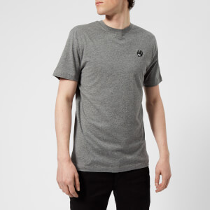 McQ Alexander McQueen Men's Short Sleeve Small Swallow Logo Crew Neck T-Shirt - Grey Melange