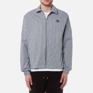 McQ Alexander McQueen Men's Windbreaker Shirt - Black/White Gingham