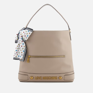 Love Moschino Women's Slouchy Tote Bag - Taupe