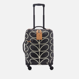 Orla Kiely Women's Matt Laminated Classic Multi Stem Print Travel Cabin Case - Liquorice