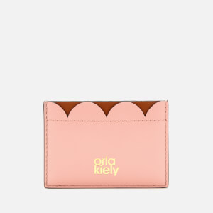 Orla Kiely Women's Giant Scallop Card Holder - Tan