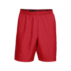Under Armour Men's Woven Graphic Wordmark Shorts - Red