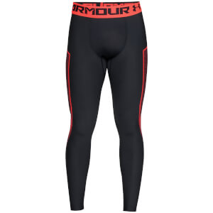 Under Armour Men's HeatGear Armour Graphic Leggings - Grey