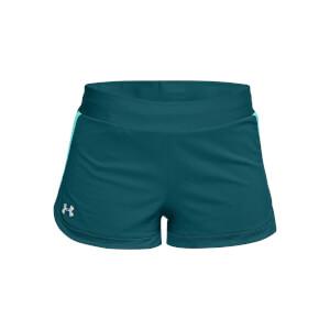 Under Armour Women's SpeedPocket 2-in-1 Shorts -Green