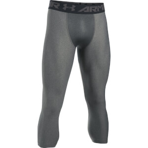 Under Armour Men's HG Armour 2.0 3/4 Leggings - Grey