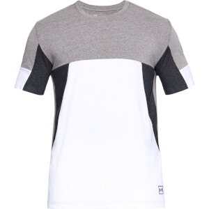 Under Armour Men's Sportstyle Colourblock T-Shirt - White