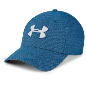 Under Armour Men's Heathered Blitzing 3.0 Cap - Blue