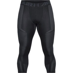 Under Armour Men's Threadborne Seamless 3/4 Leggings - Black