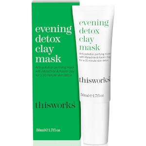 Глиняная детокс-маска для лица this works Evening Detox Clay Mask 50 мл