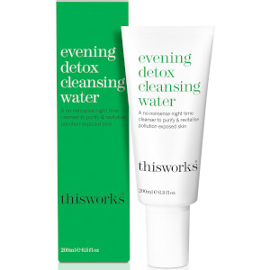 Agua limpiadora Evening Detox de this works 200 ml
