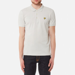 Lyle & Scott Men's Polo Shirt - Light Grey