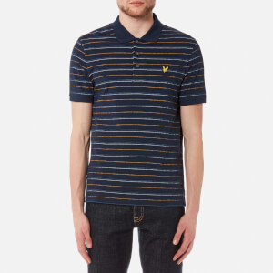 Lyle & Scott Men's Pick Stitch Polo Shirt - Navy