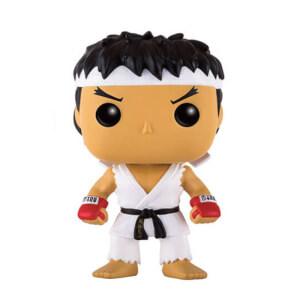 Street Fighter Ryu White Headband EXC Funko Pop! Vinyl