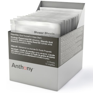 Anthony Shower Sheets (12 Blatt)