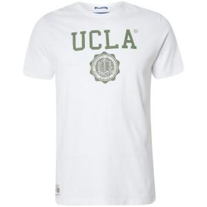 T-Shirt Homme Logo Powell UCLA - Blanc