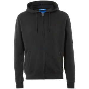 UCLA Men's Woodard Zip Through Hoody - Black