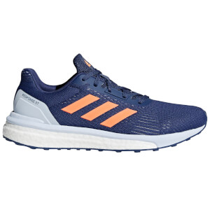 adidas Women's Response ST Running Shoes - Indigo/Orange/Blue
