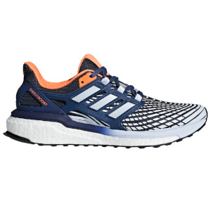 adidas Women's Energy Boost Running Shoes - Indigo/Blue/Orange