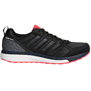 adidas Adizero Tempo 9 Aktiv Running Shoes - Black/Red
