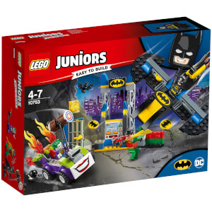 LEGO Juniors : L'attaque du Joker™ de la Batcave (10753)