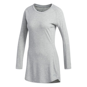 adidas Women's Supernova Pure Long Sleeved Running Top - Grey