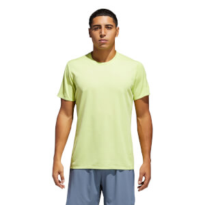 adidas Men's Supernova 37C Running T-Shirt - Yellow