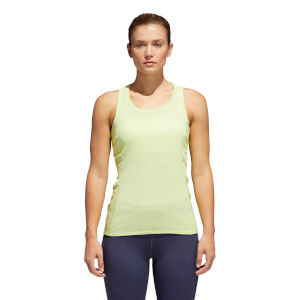 adidas Women's FR Supernova 37C Running Tank Top - Yellow
