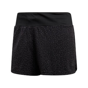 adidas Women's Supernova Glide Running Shorts - Black