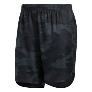adidas Men's TKO 7 Inch Running Shorts - Carbon/Black