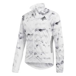 adidas Men's Adizero Track Jacket - White/Black