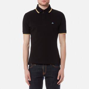 Vivienne Westwood MAN Men's Pique Overlock Polo Shirt - Black