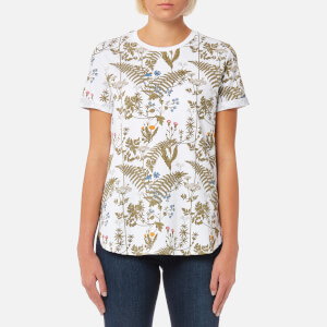 Barbour Heritage Women's Wildflower T-Shirt - White