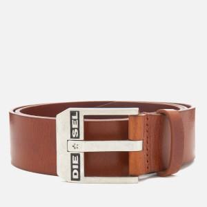 Diesel Men's Bluestar Leather Belt - Lion
