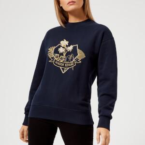 Maison Kitsuné Women's Love Blazon Sweatshirt - Navy