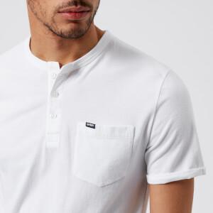 Superdry Men's Lite Short Sleeve Grandad T-Shirt - Optic