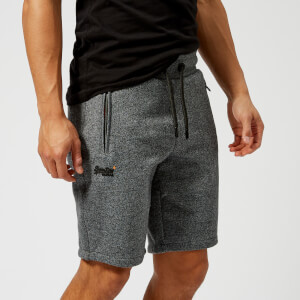 Superdry Men's Orange Label Urban Shorts - Anvil Charcoal Grindle