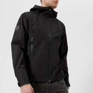 Superdry Men's Hooded Elite Windcheater Jacket - Black